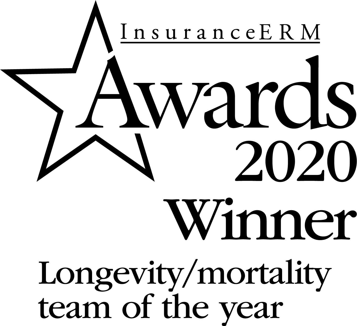 Longevity / mortality consultant of the year
