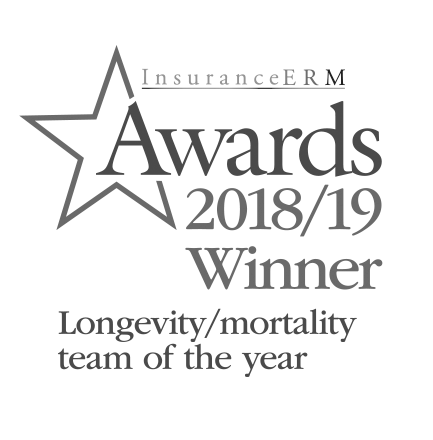 Insurance ERM Award 2018/19 - Longevity / mortality team of the year