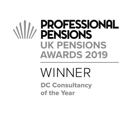Professional Pensions UK - DC consultancy of the year  2019