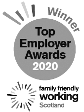 Family Friendly Working Scotland Top Employer Award 2020